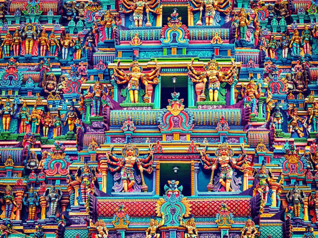 Südindien Pilger-Reise