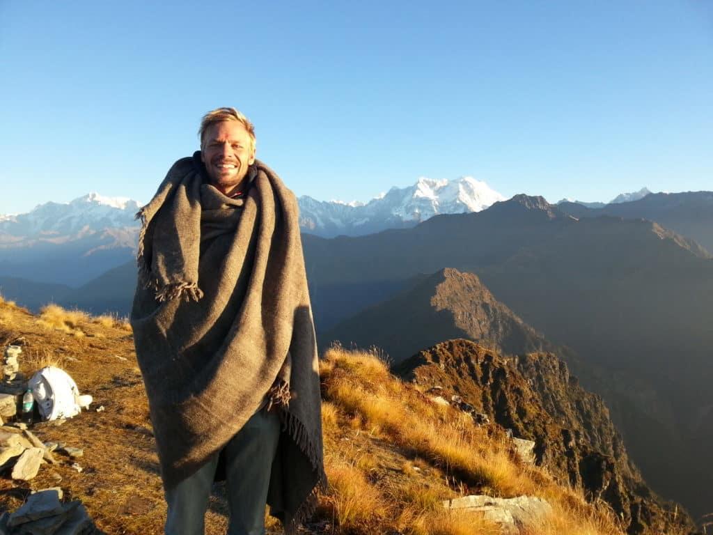 Chandrashila, Sonnenaufgang im Himalaya