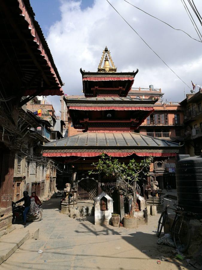 Tempel im Zentrum Kathmandu