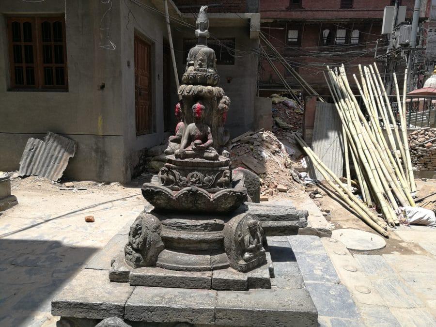 Kleine Stupa Kathmandu