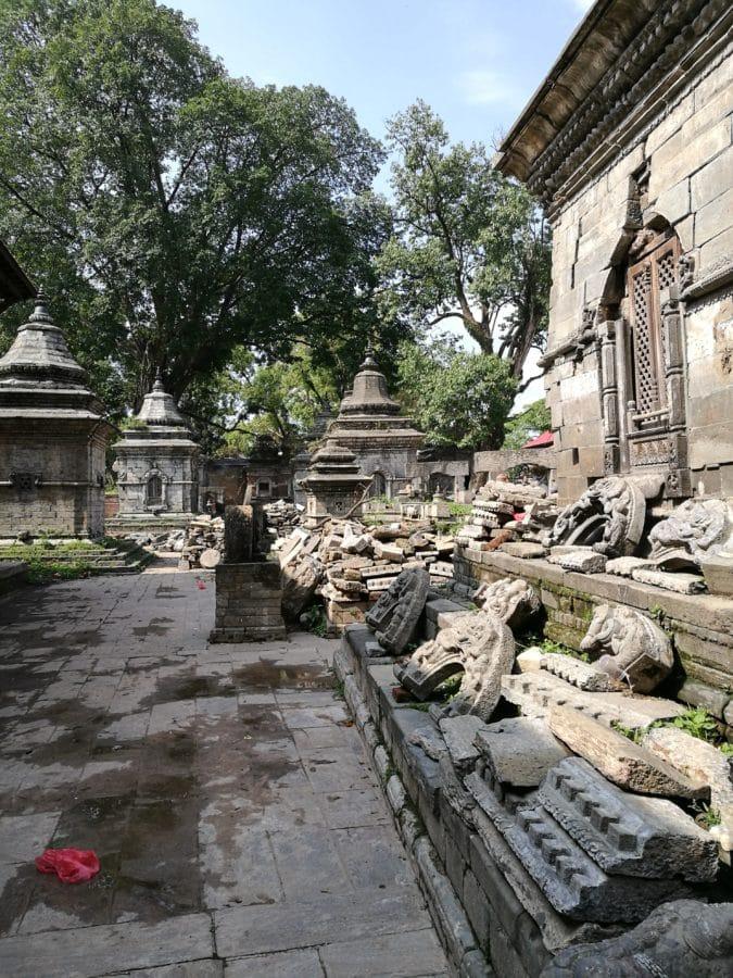 Erdbeben Pashupatinath