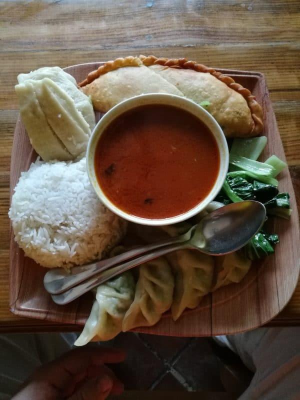 Tibetisches Essen