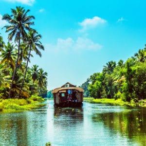 Kerala-Reise: zwei Ashrams und eine Trauminsel