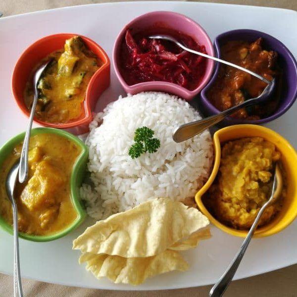 Sri Lanka Mahlzeit