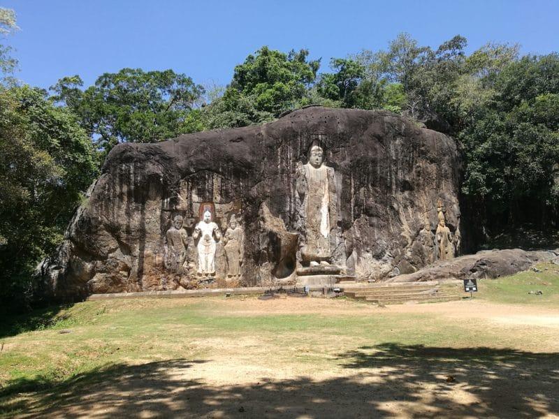 Buddhistische Statue