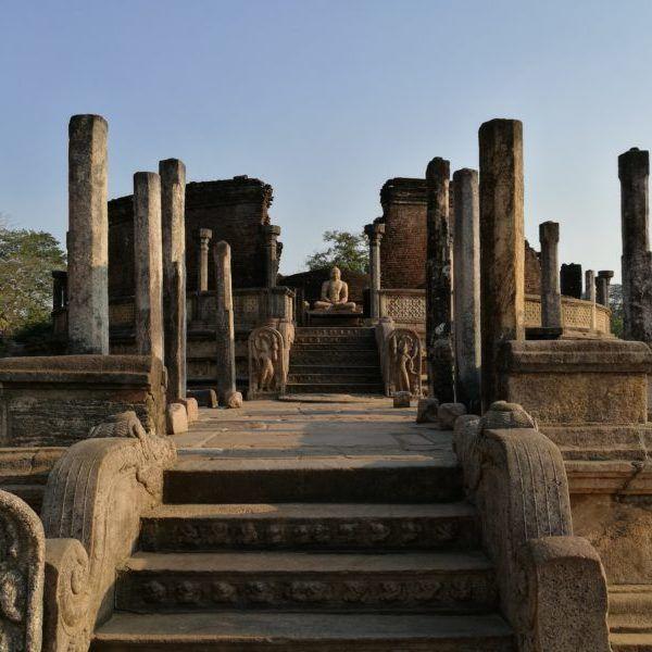 Polonnaruwa, buddhistische Pilgerreise, Sri Lanka