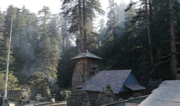 Kumaon, Himalaya, Tempel