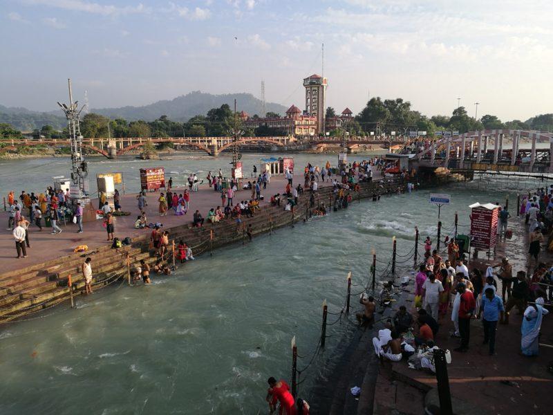 Haridwar, Zugreise
