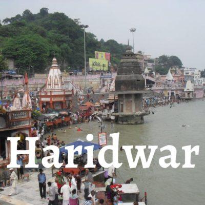 Haridwar, Indienreise