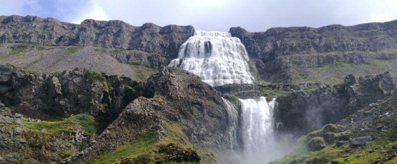 Wasserfall, Dynjandi, Island